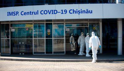 Un pacient a fugit astă-noapte din centrul Covid din capitală