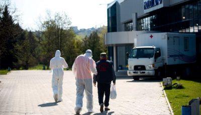 Tot mai mulți pacienți, internați cu suspecție de coronavirus în centrul Covid-19 din Chișinău