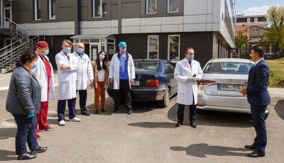 CCF Moldova cu suportul financiar al Fundației Internaționale Coca Cola, a donat spitalelor din țară analizoare hematologice, un USG performant și alte utilaje