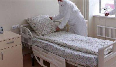 Un bărbat internat cu coronavirus la un spital din Capitală a lăsat un bilețel și a fugit