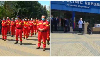 Medici specialiști în Anestezie și Terapie Intesivă, Pneumologie, Medicină de Urgență și Medicină Internă au sosit din România