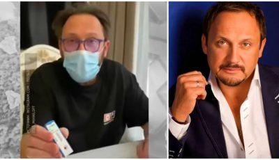 Video! Stas Mihailov a suferit de coronavirus. Artistul și-a făcut testul acasă, care a arătat pozitiv