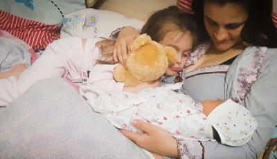 """Povestea unei femei din Chișinău, care a devenit mamă pe timp de pandemie: """"Am născut purtând mască și mănuși"""""""