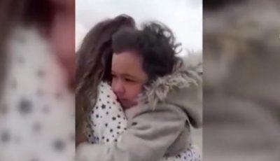 Video viral! Reacția unei fetițe care își vede mama după o lună, aceasta fiind cadru medical