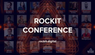 Rockit Conference aduce 20 de speakeri în cadrul ediției online 2020