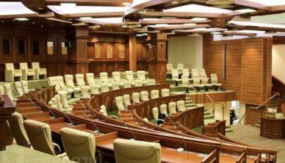Covid-19 a ajuns în parlamentul Republicii Moldova