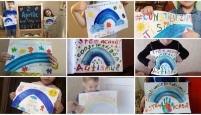 Astăzi este Ziua Mondială a Conștientizării Autismului: copiii au organizat un flashmob
