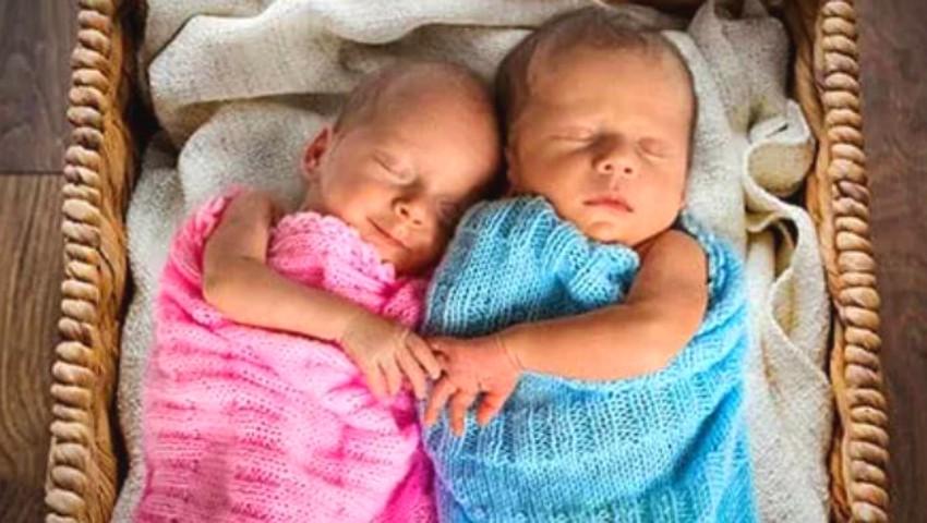 Coronavirus: Un cuplu și-a numit gemenii nou-născuți Corona şi Covid