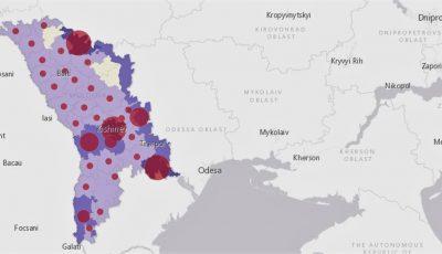 Până în luna mai, în Moldova ar putea fi înregistrate 31.000 cazuri de Covid-19