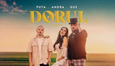 """Guz, Andra și Puya au lansat piesa ,,Dorul"""" – cea mai inedită colaborare între malurile Prutului!"""