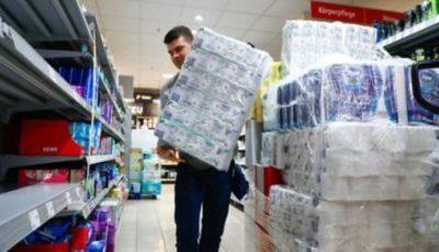 Potrivit presei ucrainene, se așteaptă o criză serioasă a hârtiei igienice pe piață
