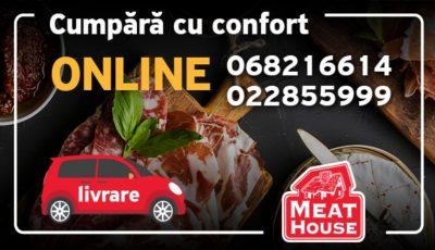 Meat House te invită la cumpărături online pentru pregătirile de Paști!