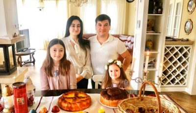 """Costi Burlacu și Corina Țepeș: ,,Sărbătoare de Paști petrecută acasă"""""""