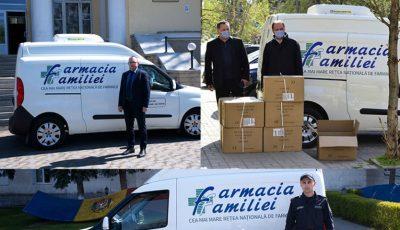 Farmacia Familiei și Dita EstFarm se implică în sprijinirea instituțiilor statului în lupta contra epidemiei Covid-19