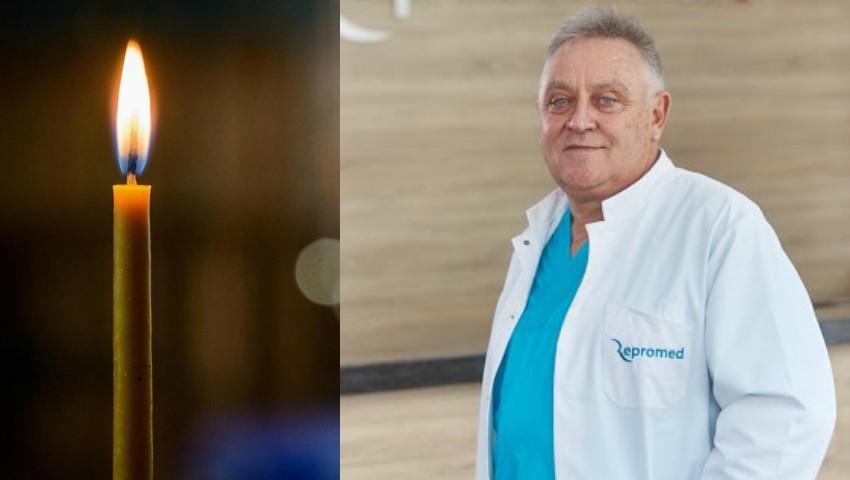 Reputatul medic radiolog Valeriu Pripa, a decedat din cauza Covid-19