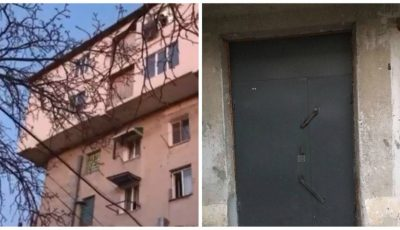 Ușile unui bloc de locuit din Capitală au fost sudate, în legătură cu infecția Covid-19