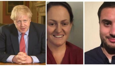 """Premierul britanic Boris Johnson, celor doi imigranți care l-au salvat de coronavirus: ,,Nu le pot mulţumi suficient. Le datorez viaţa"""""""