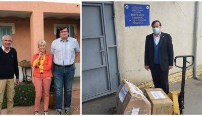 Un medic din Franța a donat un aparat de ventilație pulmonară spitalului din Soroca