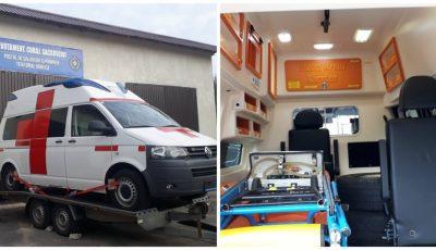Un grup de moldoveni stabiliți peste hotare au cumpărat o ambulanță nouă pentru satul lor natal din raionul Hâncești