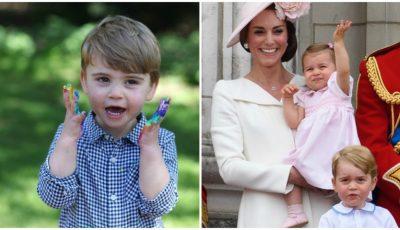 Prințul Louis împlinește astăzi 2 ani. Kate Middleton a publicat imagini adorabile