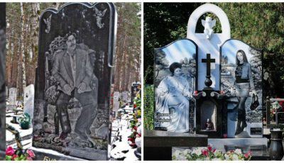 Foto. Cum arată cimitirul mafioților și gangsterilor din Rusia
