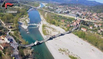 Un pod uriaș s-a prăbușit în Italia