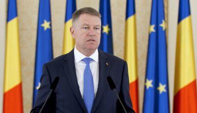 """Președintele Klaus Iohannis: ,,Dragii mei, nu veniți anul acesta acasă de Sărbători"""""""