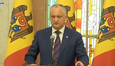 Igor Dodon: Îndemnăm oamenii de afaceri care dețin hotele să cazeze medici și alți angajați din sistemul medical
