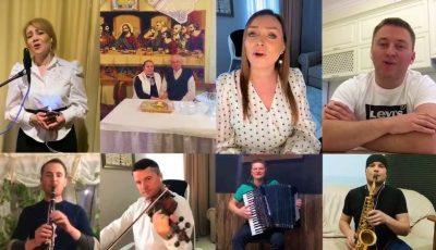 """Video! ,,Moldova, Moldovioara mea!"""" – cadoul emoționant al artiștilor de Paște pentru moldovenii de pretutindeni!"""