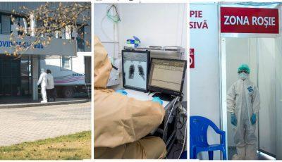 Foto! Cum sunt internați și examinați pacienții în Centrul Covid-19 din Capitală
