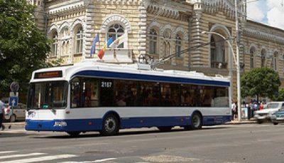 Pe 11 și 12 aprilie, circulația transportului public din municipiile Chișinău și Bălți va fi sistată