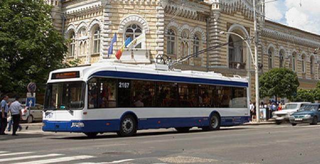 Foto: Pe 11 și 12 aprilie, circulația transportului public din municipiile Chișinău și Bălți va fi sistată