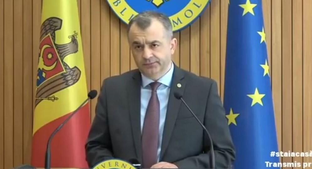 Foto: Ion Chicu: Avem vești neplăcute, ajutorul pentru șomaj nu va fi oferit