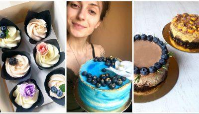 Și-a transformat pasiunea în afacere: O tânără din Chișinău creează cupcake-uri și torturi delicioase pentru tine și cei dragi ție, pe care vrei să-i surprinzi!