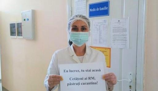 84 de cadre medicale din Moldova, infectate cu Covid-19