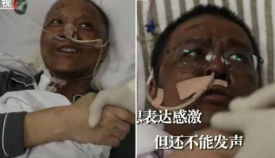 Video! Doi medici chinezi grav bolnavi, s-au înnegrit în timpul tratamentului contra noului coronavirus