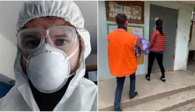 Trei voluntari care împărțeau produse persoanelor nevoiașe au fost diagnosticați cu coronavirus