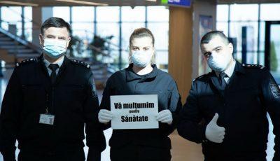 Polițiștii de frontieră au donat salariul pentru o zi de muncă în lupta cu virusul Covid-19