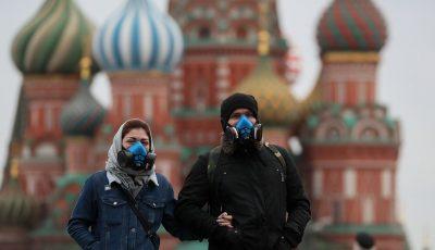 Rusia a devenit a 3-a cea mai afectată țară de Coronavirus de pe glob