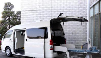 A fost creată prima ambulanță special proiectată pentru transportul pacienților Covid-19