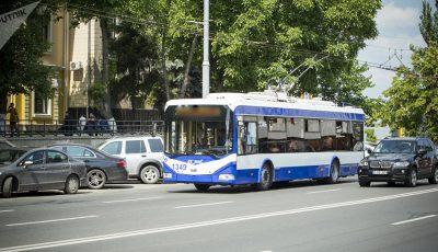 Noi reguli de călătorie cu troleibuzele, în Chișinău și Bălți