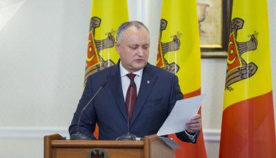 De la 1 iunie vor fi eliminate aproape toate restricțiile, spune Igor Dodon