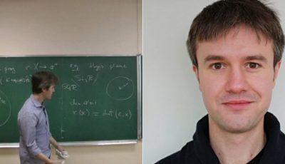 Un matematician moldovean a devenit câștigătorul premiului Societății Europene de Matematică