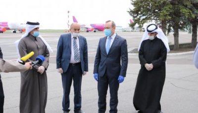 Statul Qatar a oferit un lot de ajutor umanitar medical Republicii Moldova