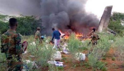 Avion plin cu provizii anti-Covid, a fost doborât în Somalia