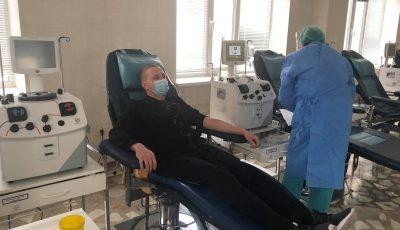 Cinci pacienți infectați cu Covid-19 au fost vindecați cu plasmă sanguină imunizată, în cadrul Spitalului Clinic Republican