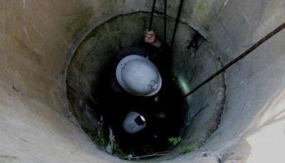 Un salvator a scos o persoană căzută într-o fântână la Dondușeni