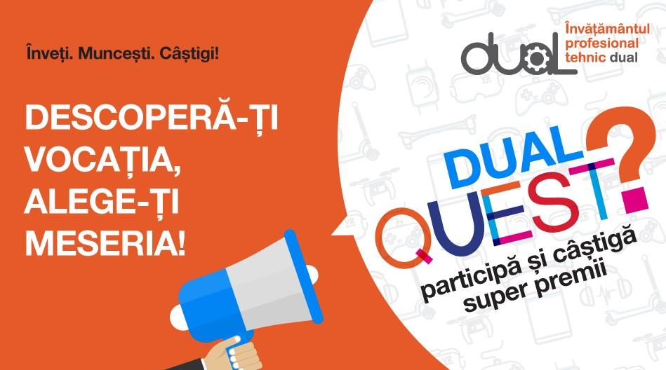 Dual Quest – primul maraton educațional lansat pentru tineri