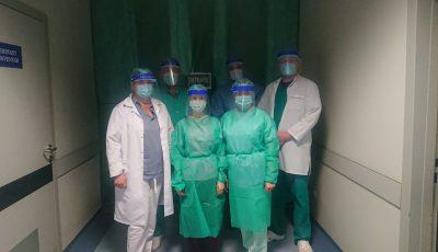 Un medic infectat cu Covid-19, aflat în stare extrem de gravă, a fost salvat de medicii de la Spitalul Clinic Republican