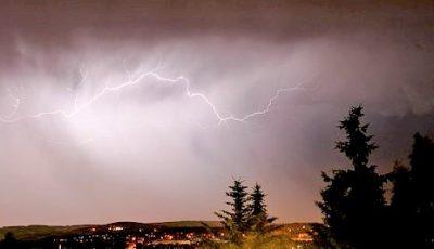 Cod Galben de ploi în Moldova. Tună și fulgeră în mai multe regiuni ale țării